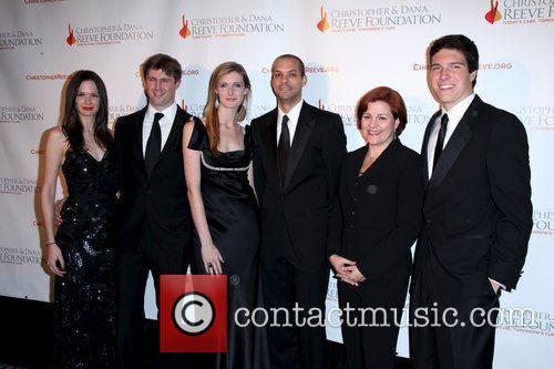 Matthew Reeve, Alexandra Reeve, Dana Reeve and Will Reeve 4