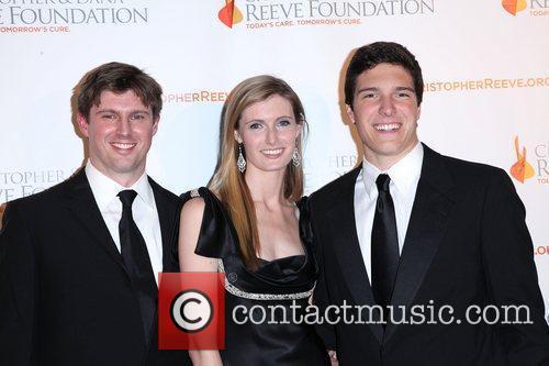 Matthew Reeve, Alexandra Reeve, Dana Reeve and Will Reeve 2