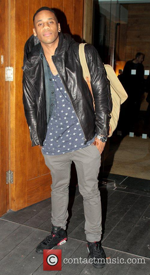 Radio 1 DJ Reggie Yates out and about...