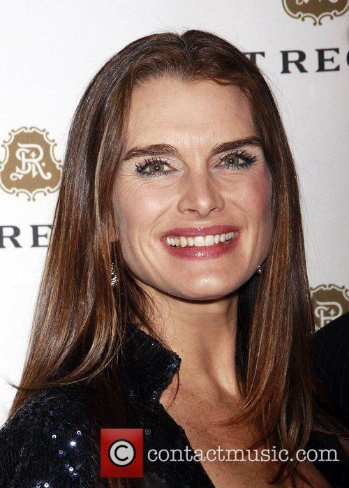 Brooke Shields and Celebration 7