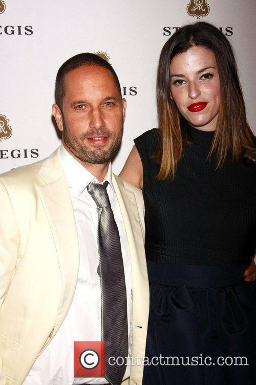Alexis Bittar and Samantha Shaw attending the celebration...