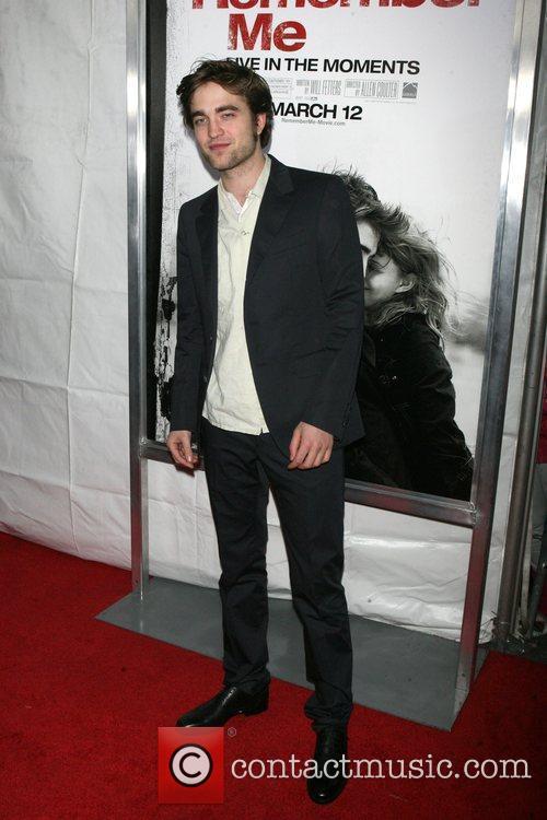 Robert Pattinson New York premiere of 'Remember Me'...
