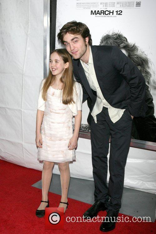 Ruby Jerins and Robert Pattinson New York premiere...