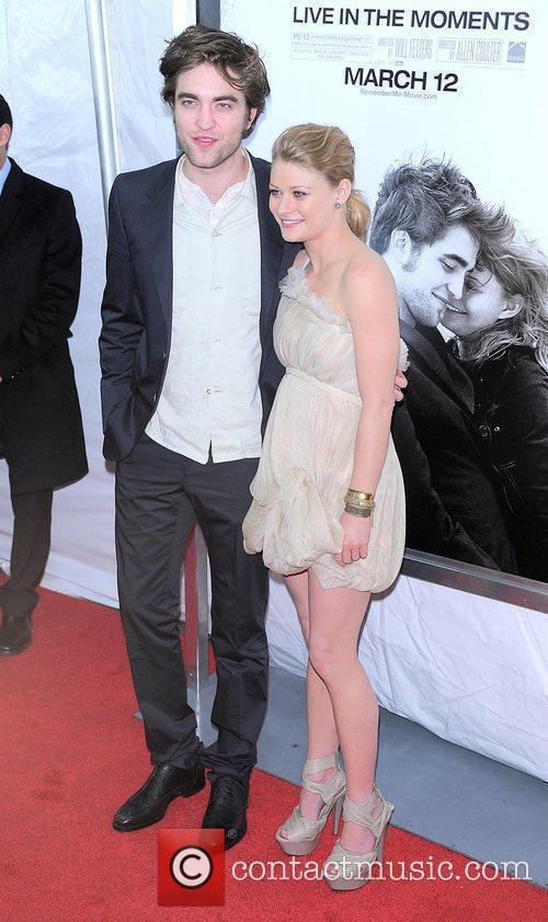 Robert Pattinson and Emilie de Ravin New York...