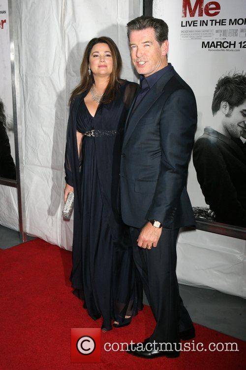 Keely Shaye Smith and Pierce Brosnan 2