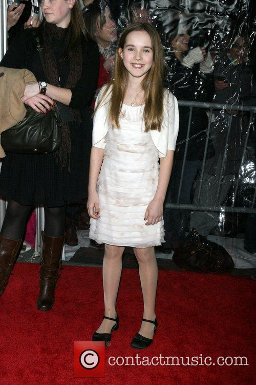 Ruby Jerins New York premiere of 'Remember Me'...