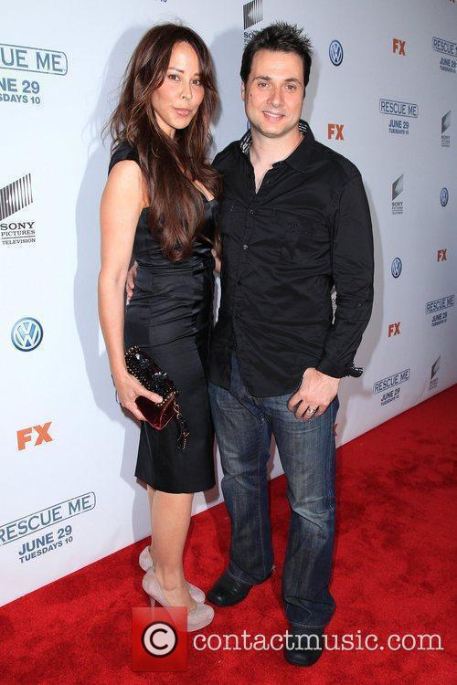 Adam Ferrera and guest 'Rescue Me' Season 6...
