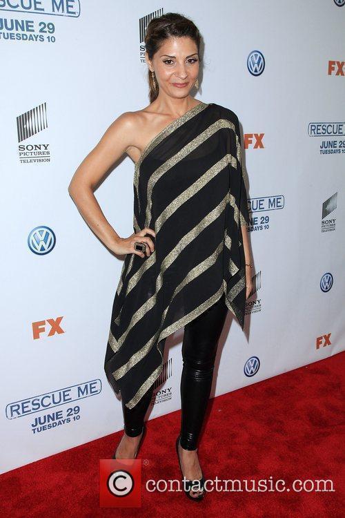 Callie Thorne 'Rescue Me' Season 6 premiere at...