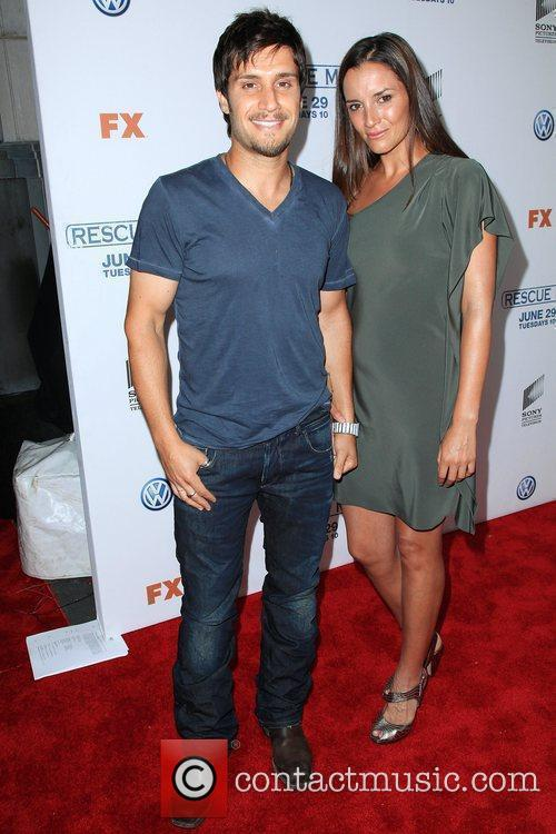 Michael Lombardi and guest 'Rescue Me' Season 6...