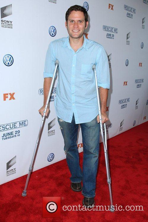 Steven Pasquale 'Rescue Me' Season 6 premiere at...