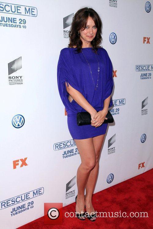Diane Farr  'Rescue Me' Season 6 premiere...