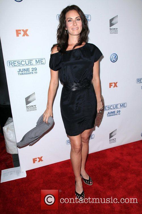 Laura Benanti  'Rescue Me' Season 6 premiere...