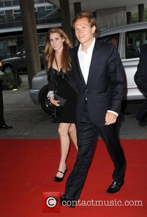 Princess Beatrice and Dave Clark The Reuben Foundation...