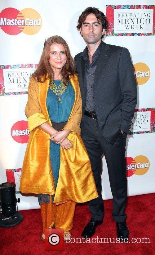 Writer Susanne Steines and photographer John Mack...