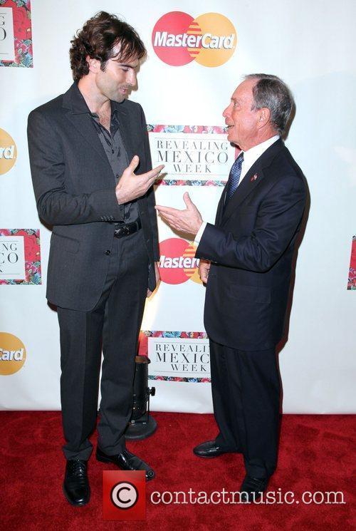 Michael Bloomberg and photographer John Mack 'Revealing Mexico...