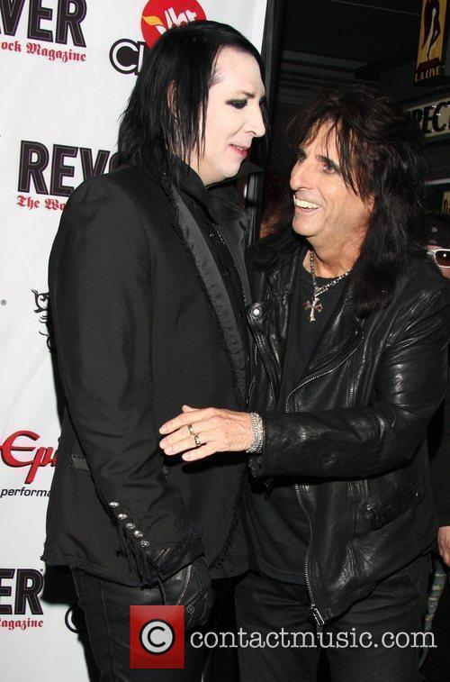 Marilyn Manson and Alice Cooper 1