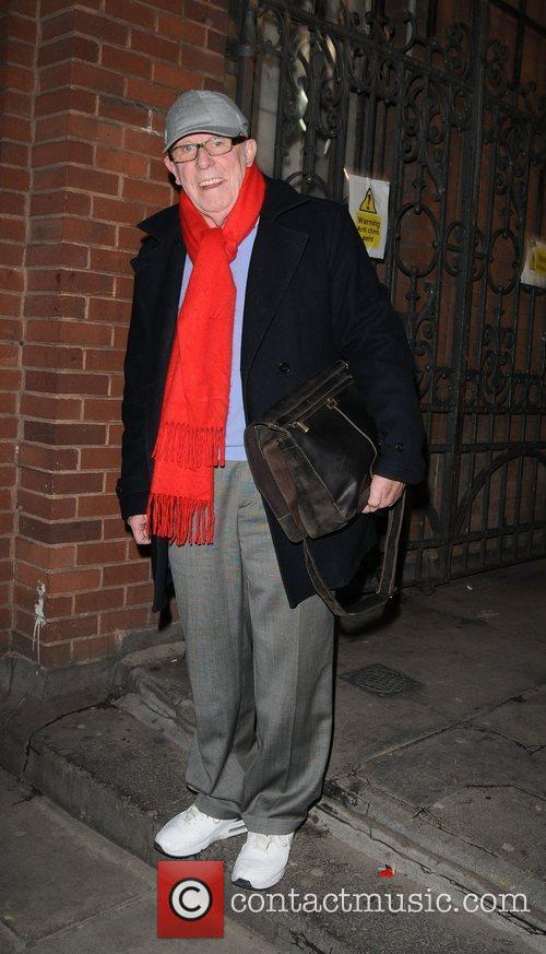 Richard Wilson seen leaving The Duke of York's...
