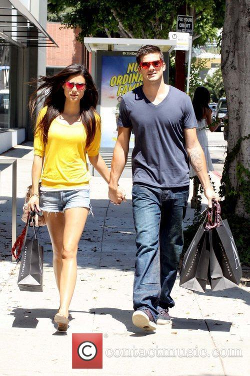 'Step Up 3D' star Rick Malambri shopping with...