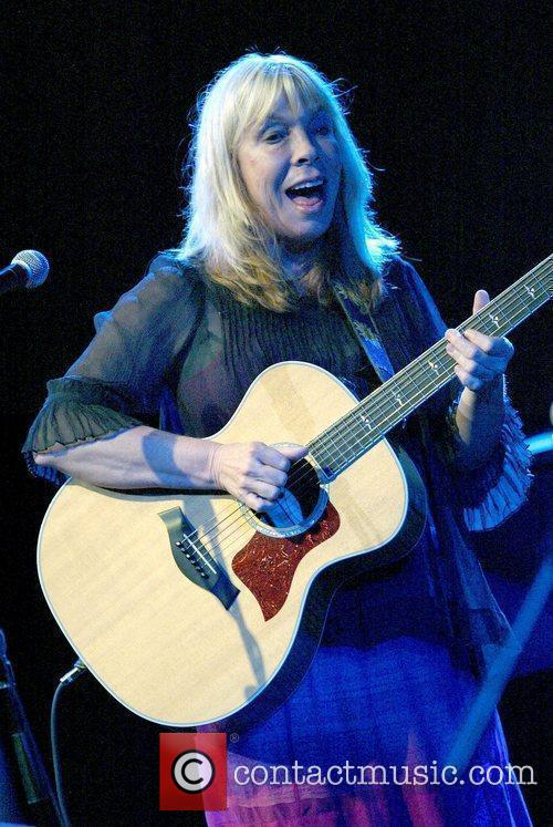 Rickie Lee Jones performing live in concert at...