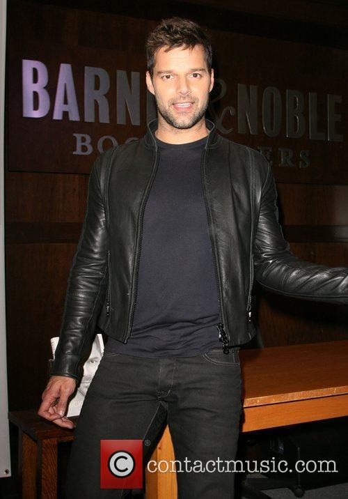 Ricky Martin signs copies of his new Autobiography...