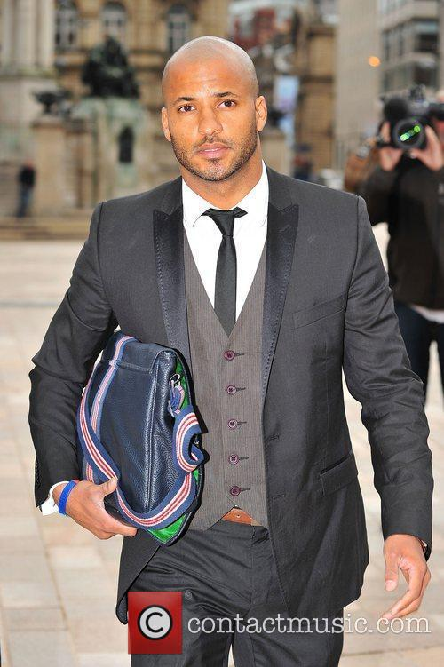 Ricky Whittle arriving at Liverpool Crown Court to...