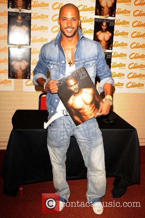 Ricky Whittle signs copies of his Calendar at...
