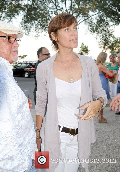 Carey Lowell attends the Urban Zen Foundation reception...
