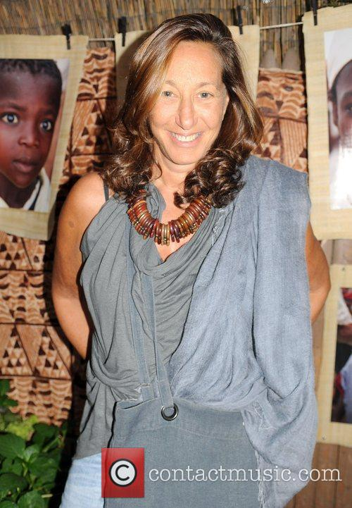 Donna Karen attends the Urban Zen Foundation reception...