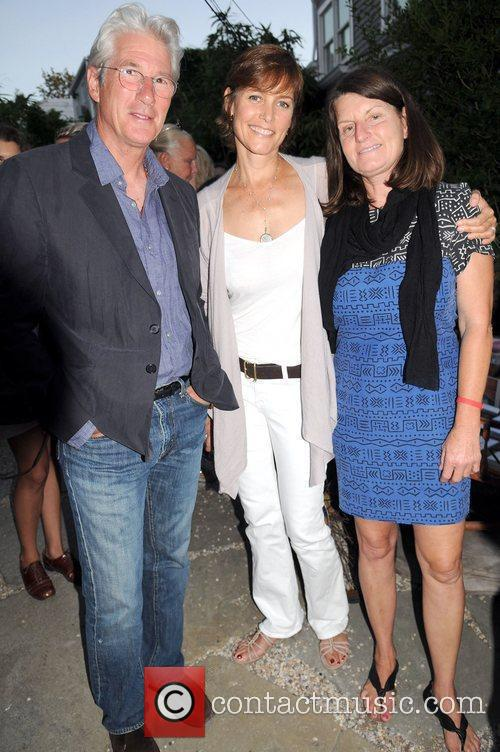Richard Gere and Carey Lowell attend the Urban...