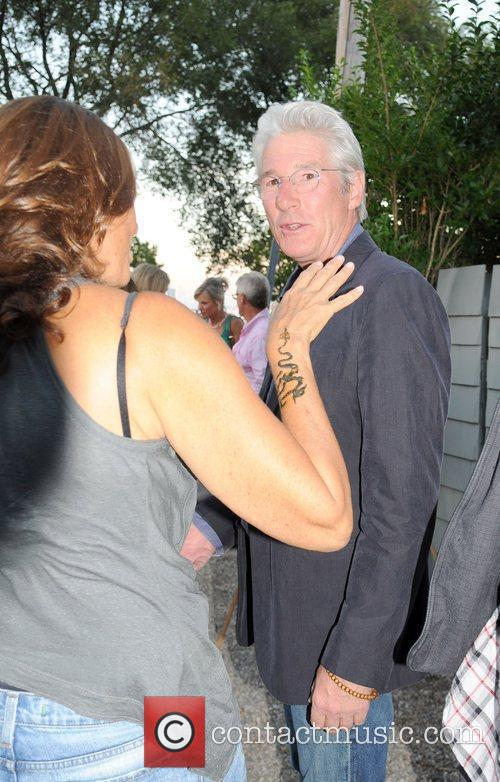 Richard Gere attends the Urban Zen Foundation reception...