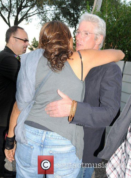 Richard Gere and Donna Karen attend the Urban...