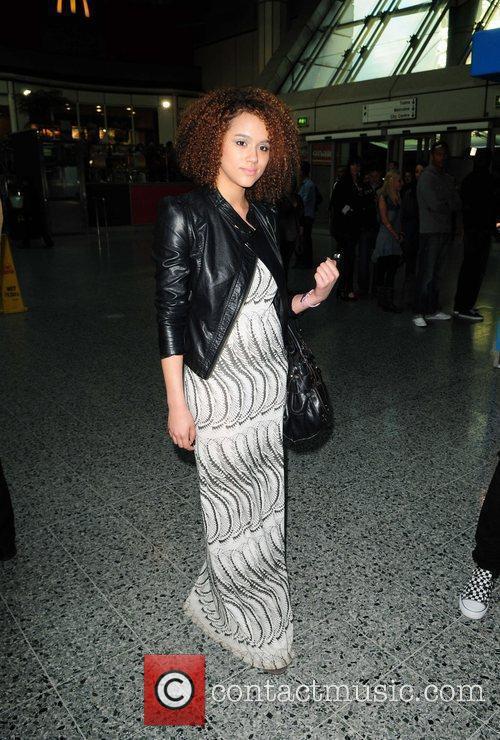 Hollyoaks Nathalie Emmanuel   arriving at the...