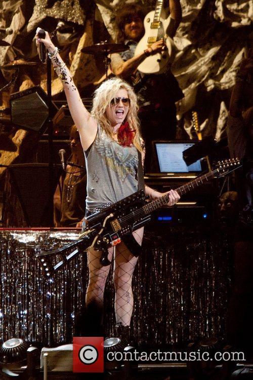 Performing at Pengrowth Saddledome