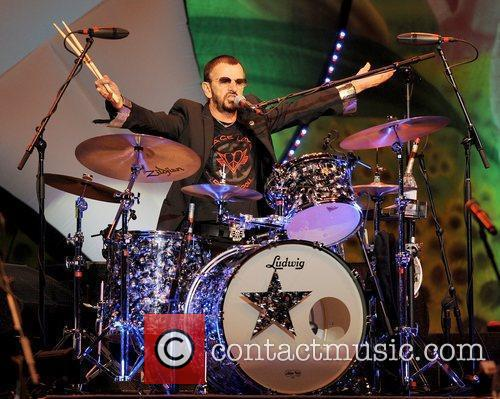 Performs during the 11th Annual Ringo Starr and...