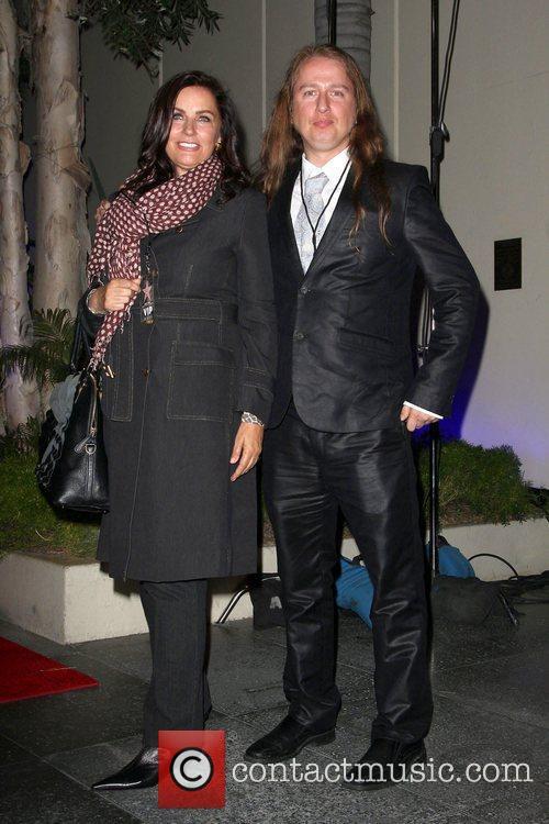 Barbara Orbison, Ringo Starr and Roy Orbison