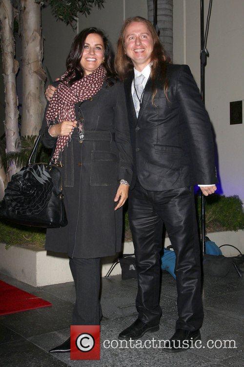 Barbara Orbison, Ringo Starr and Roy Orbison 2