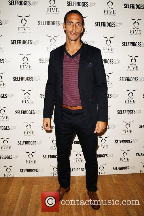 'Five by Rio Ferdinand' shoe range launch at...