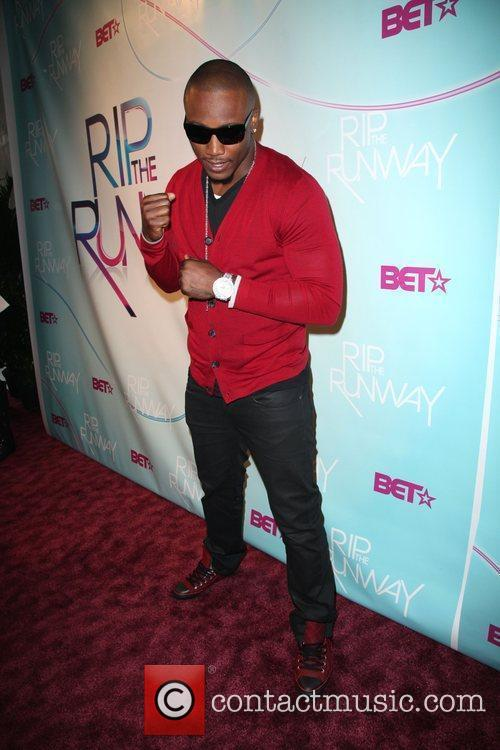 Brandon Marshall  BET's Rip The Runway 2010...