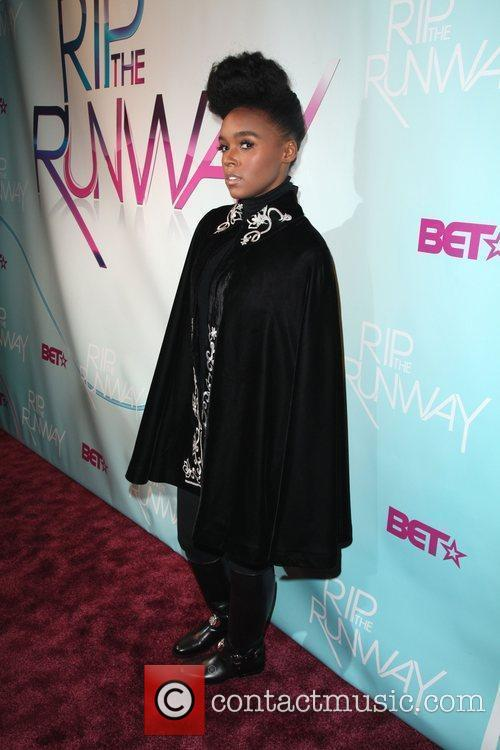 Janelle Monae  BET's Rip The Runway 2010...