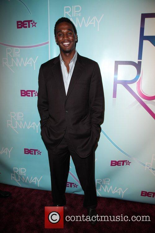 Kareem Rush  BET's Rip The Runway 2010...