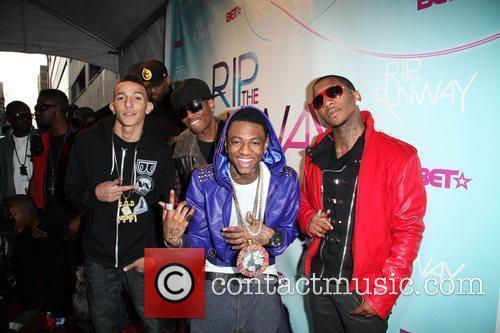 Soulja Boy  BET's Rip The Runway 2010...