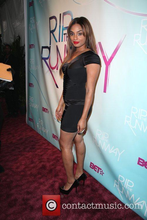 TV personality Alesha Renee  BET's Rip The...