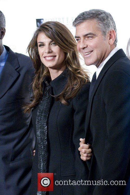 Elisabetta Canalis, George Clooney, Justice and Robert F Kennedy 1