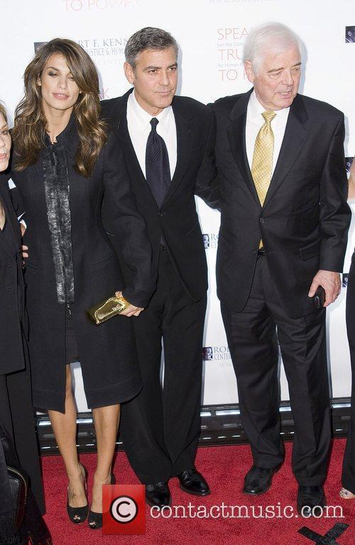 Elisabetta Canalis, George Clooney, Justice, Nick Clooney and Robert F Kennedy 4