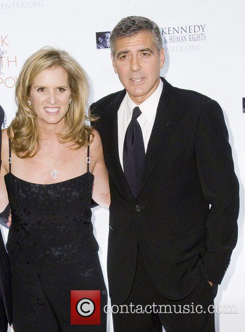 George Clooney, Justice, Kerry Kennedy and Robert F Kennedy 4