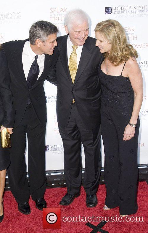 George Clooney, Justice, Kerry Kennedy, Nick Clooney and Robert F Kennedy 3