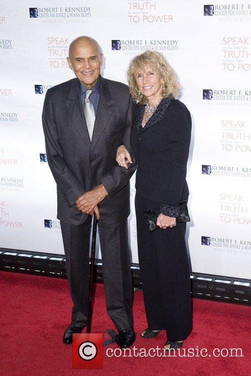 Harry Belafonte and Pamela Belafonte at the Robert...
