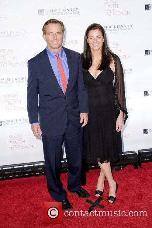Robert F Kennedy Jr. and guest at the...