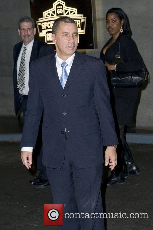 David Paterson at the Robert F. Kennedy Center...