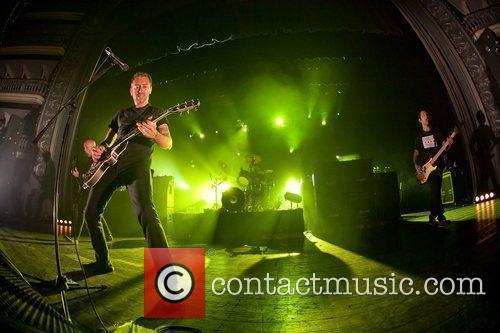 Rise Against performing live at Coliseu dos Recreios
